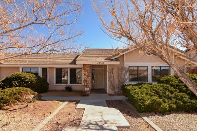 Apple Valley Single Family Home For Sale: 13517 Havasu Road