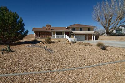 Apple Valley Single Family Home For Sale: 12450 Palomino Lane