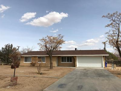 Apple Valley Single Family Home For Sale: 15425 Ute Road
