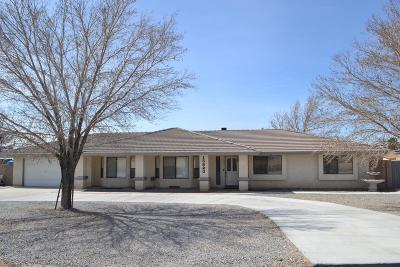 Apple Valley Single Family Home For Sale: 13820 Apple Valley Road