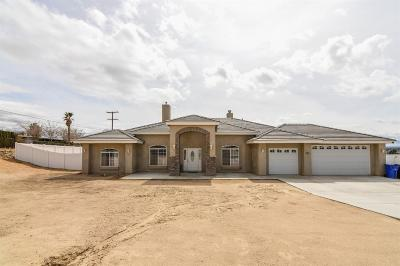 Apple Valley Single Family Home For Sale: 18625 Chapae Lane