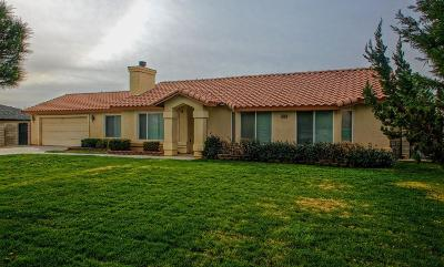 Victorville Single Family Home For Sale: 14561 Olivera Road