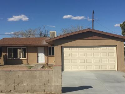 Barstow Single Family Home For Sale: 1617 Piute Street