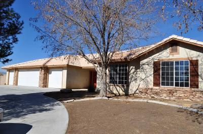 Apple Valley Single Family Home For Sale: 17734 Branding Iron Road