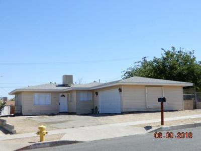 Barstow Single Family Home For Sale: 1100 E Virginia Way