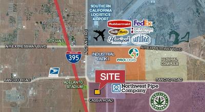 Adelanto Commercial Lots & Land For Sale: El Dorado Street