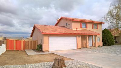Adelanto Single Family Home For Sale: 14439 Ivy Street