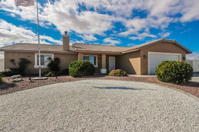 Apple Valley Single Family Home For Sale: 22085 Pahute Road
