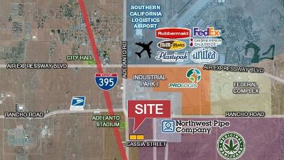 Adelanto Commercial Lots & Land For Sale: Adelanto Road
