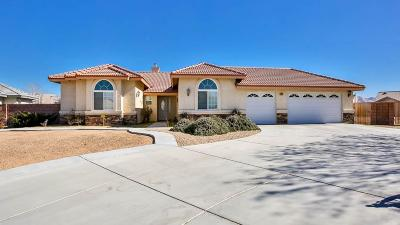 Apple Valley Single Family Home For Sale: 12479 Sarsi Place