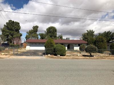 Hesperia Single Family Home For Sale: 18168 Westlawn Street