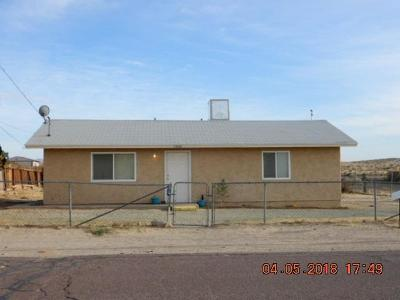 Barstow Single Family Home For Sale: 25307 Jade Road
