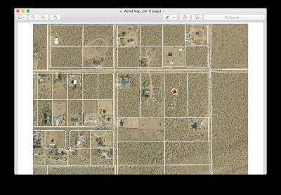 Apple Valley Residential Lots & Land For Sale: 26429 N Desert View Road N