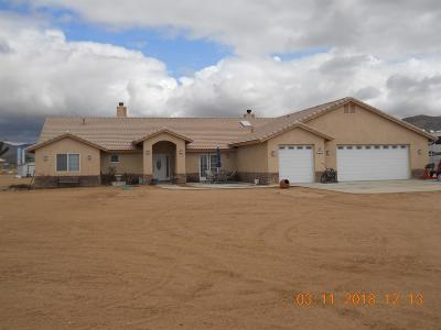 Apple Valley Single Family Home For Sale: 15577 Japatul Road
