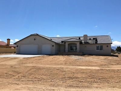 Apple Valley Single Family Home For Sale: 20624 Dominquez Road