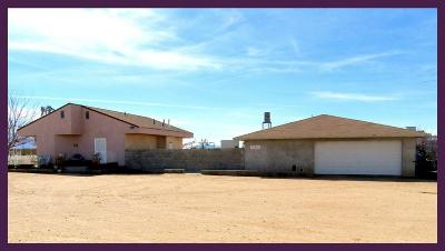 Adelanto Single Family Home For Sale: 15473 Beaver Road