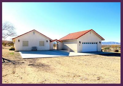 Lucerne Valley Single Family Home For Sale: 8972 Midway Avenue
