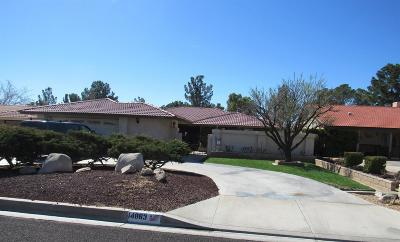 Helendale Single Family Home For Sale: 14863 Blue Grass Drive