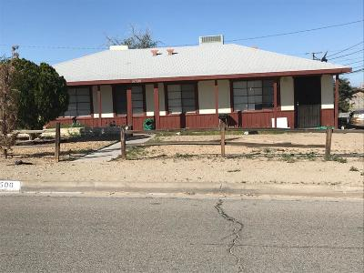 Barstow Single Family Home For Sale: 34500 Birch Road