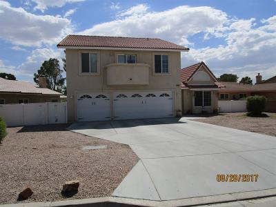 Helendale Single Family Home For Sale: 15235 Tournament Drive