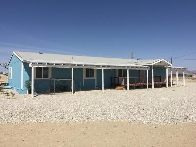 Lucerne Valley Single Family Home For Sale: 10130 Locust Avenue