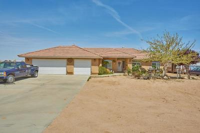 Victorville Single Family Home For Sale: 11231 Bellflower Road