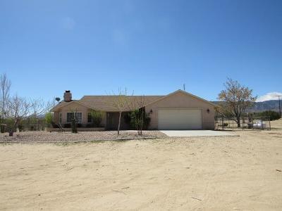 Pinon Hills Single Family Home For Sale: 125 Sacramento Road