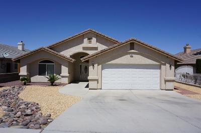 Barstow Single Family Home For Sale: 631 Rimrock Road