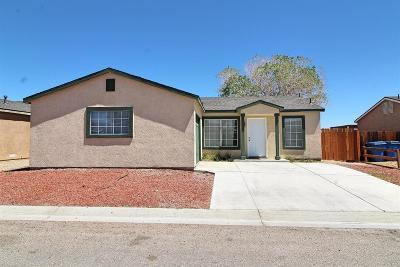 Barstow Single Family Home For Sale: 25076 Camino Del Norte