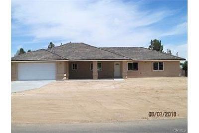 Hesperia Single Family Home For Sale: 10811 11th Avenue