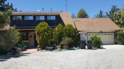 Wrightwood Single Family Home For Sale: 1935 Desert Front Road Road