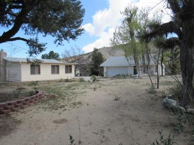 Pinon Hills Single Family Home For Sale: 7801 Pipeline Road