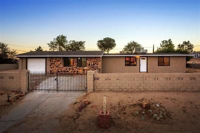Barstow Single Family Home For Sale: 2569 Surrey Road