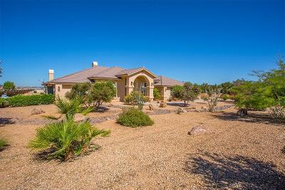 Apple Valley Single Family Home For Sale: 14014 Japatul Road
