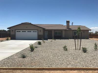 Apple Valley Single Family Home For Sale: 10872 Kiavan Road