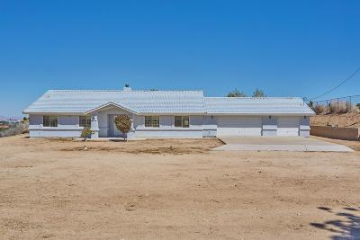 Pinon Hills Single Family Home For Sale: 10671 Crystal Aire Road