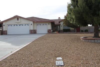 Hesperia Single Family Home For Sale: 7126 Amanda Way