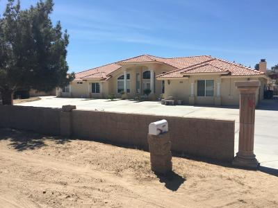 Apple Valley Single Family Home For Sale: 15014 Tuscola Road