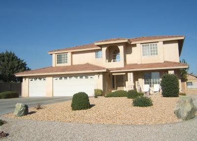 Apple Valley Single Family Home For Sale: 12725 Quail Vista Road