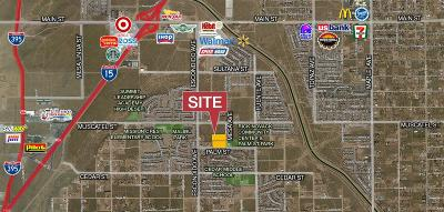 Hesperia Residential Lots & Land For Sale: 16570 Palm Street