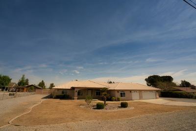 Hesperia Single Family Home For Sale: 15348 Ranchero Road
