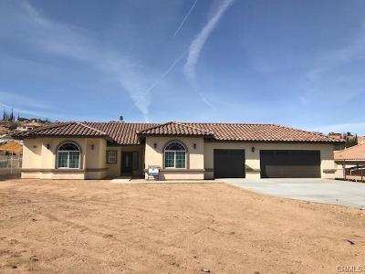 Hesperia Single Family Home For Sale: 15010 Cedar Street
