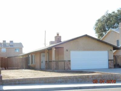 Barstow Single Family Home For Sale: 1320 Mirage Drive