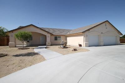 Barstow Single Family Home For Sale: 27732 Travertine Street
