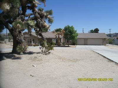 Apple Valley Single Family Home For Sale: 18860 Symeron Road