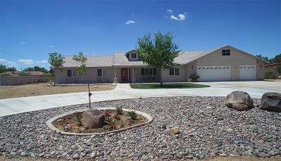 Apple Valley Single Family Home For Sale: 18912 Red Feather Road