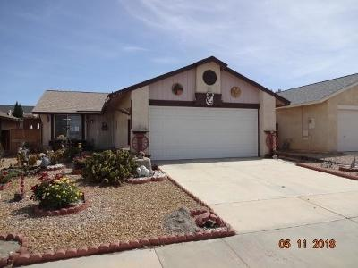 Victorville Single Family Home For Sale: 16797 Silica Drive