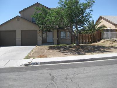 Barstow Single Family Home For Sale: 1108 Teton Drive