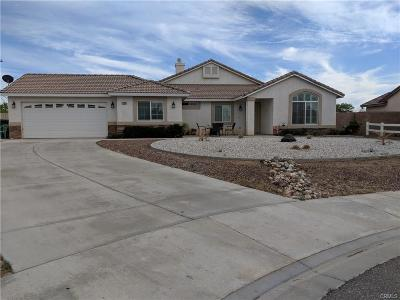 Apple Valley Single Family Home For Sale: 21299 Chardonnay Drive