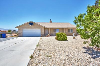 Apple Valley Single Family Home For Sale: 22837 Itasca Road
